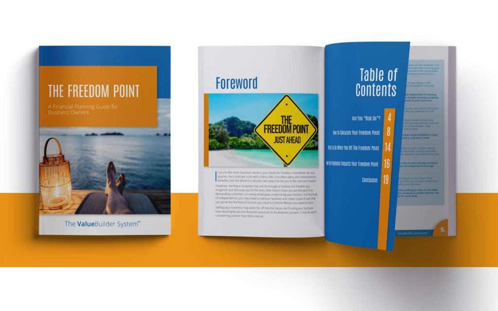 The Freedom Point: A Financial Planning Guide for Business Owners.